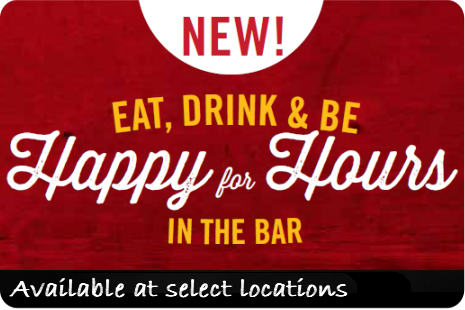 Eat, Drink & Be Happy for Hours In The Bar