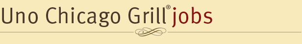 Uno Chicago Grill Jobs