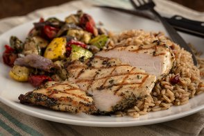 Herb Rubbed Chicken