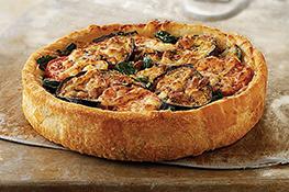 Farmer's Market Deep Dish Pizza