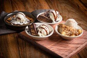 Macadamia Nut White Chocolate Chunk Deep Dish Cookie Sundae