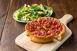 Lunch Deep Dish Pizza