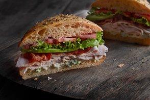 Turkey, Bacon, Avocado Sandwich