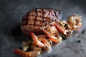 Grilled Shrimp Sirloin