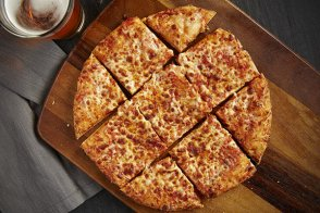 Cheese & Tomato Thin Crust Pizza