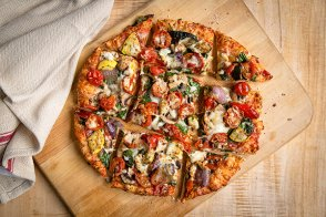 Veggie Thin Crust Pizza