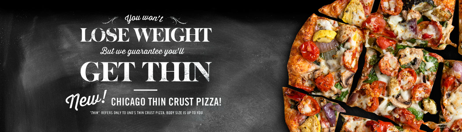 New Chicaco Thin Crust Pizza
