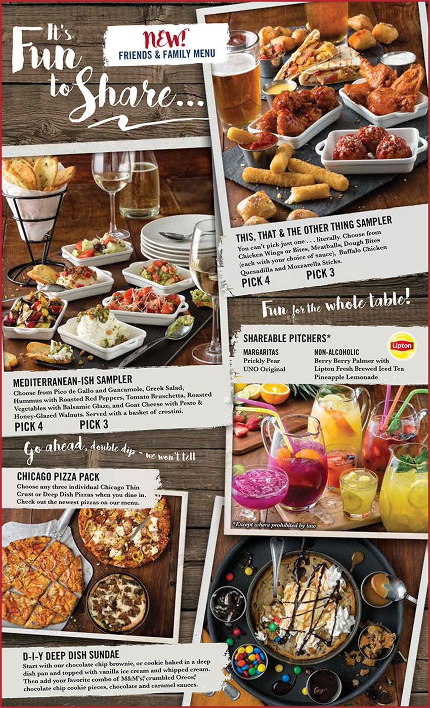 Unos Limited Time Offers #1